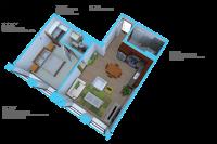 Option C- 1 bedroom/ 1 bath units