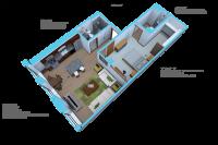 Option E-1 bedroom/1 bath units