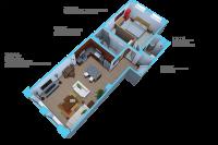 Option F-1 bedroom/1 bath units