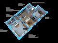 Option D-2 bedroom/ 2 bath units